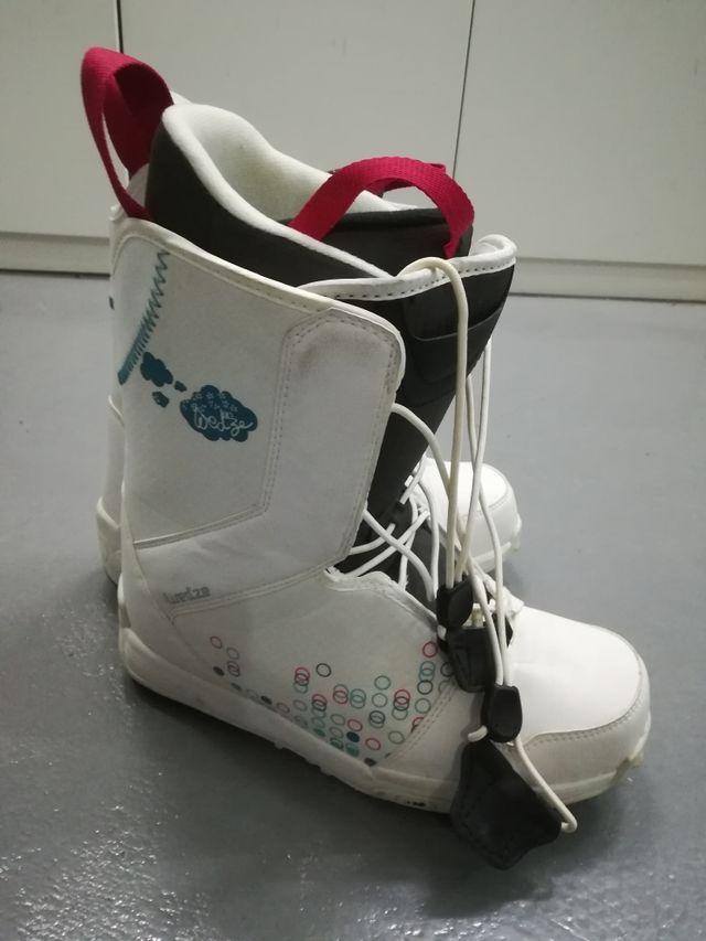 botas snow chica