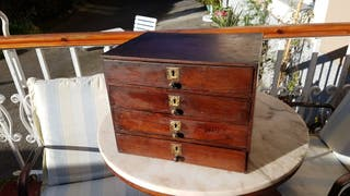 Mueble cajonera antiguo de segunda mano por 75 en gij n en wallapop - Wallapop asturias muebles ...
