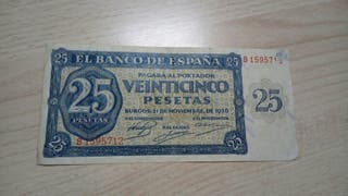 25 pesetas 1936