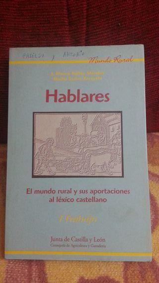 HABLARES. EL MUNDO RURAL, LÉXICO