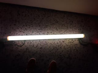luces LED RGB con transformador para color