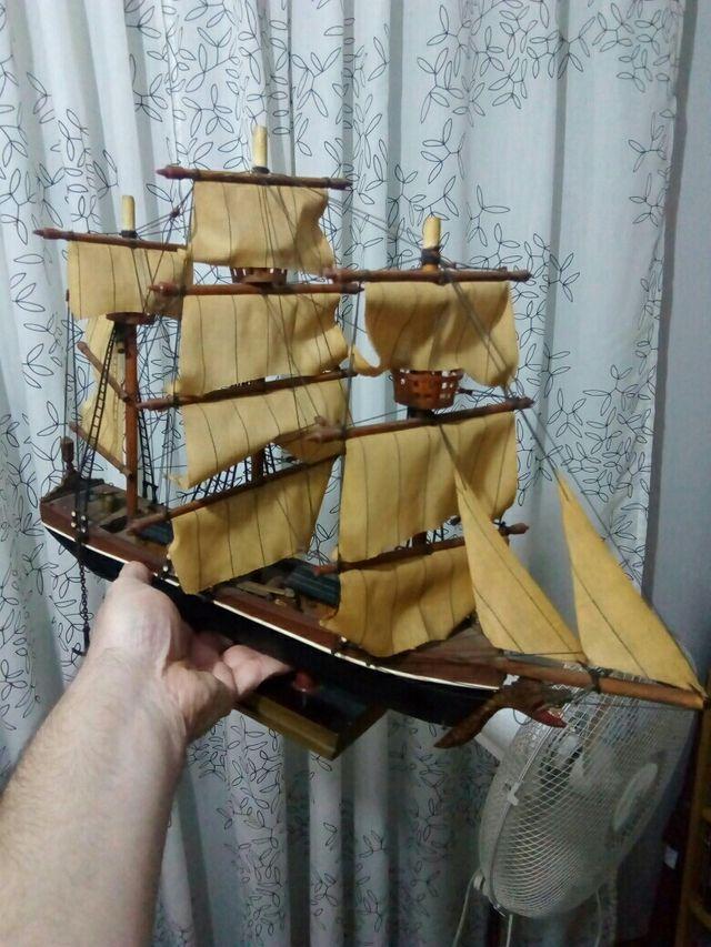 maqueta barco