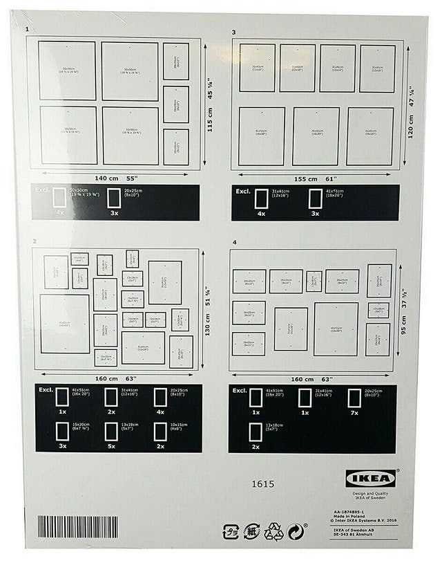 Plantilla para Cuadros IKEA de segunda mano por 5 € en San Cristóbal ...