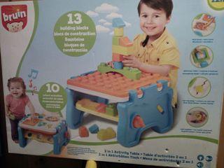 mesa actividades para niños