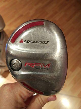palo de golf hibrido n°5 adams
