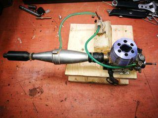 motor rc gasolina