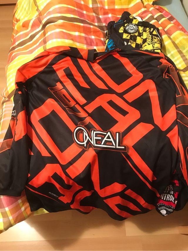 Camiseta oneal motocross
