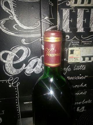 botella de vino rioja