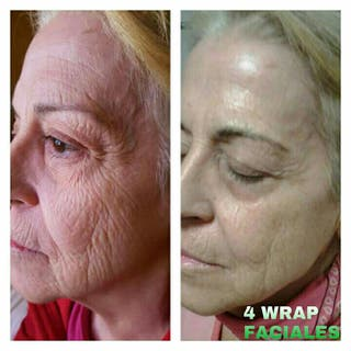 Wrap facial It Works