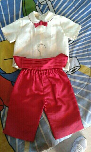 traje de niño