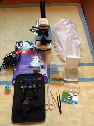 Microscopio Profesional Bresser
