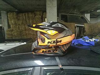 Casco integral KTM enduro