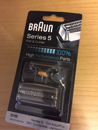 Recambio Braun serie 5