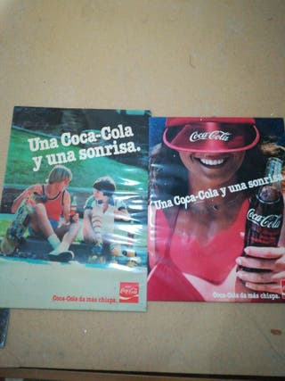 carteles cocacola
