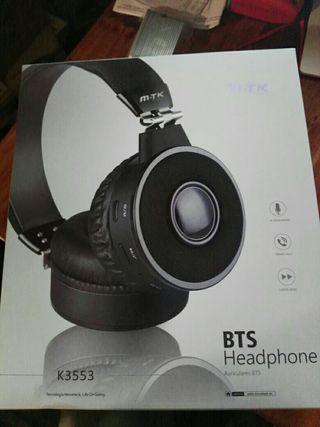 auriculares bluetooth con radio y micro nuevos