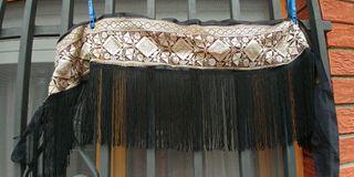tribal oriental carnaval cinturon