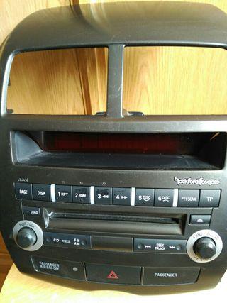 frontal cd radio y botonera Mitsubishi