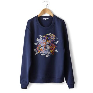 Sweat CARVEN broderie fleurie T.M