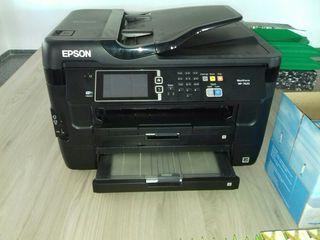 impresora epson wf 7620 con extras