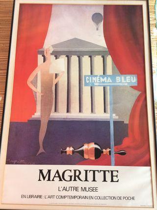 Rene Magritte, Cinema Bleu OFERTA