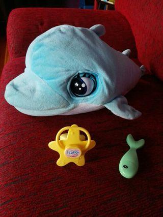 Blu blu, delfín interactivo