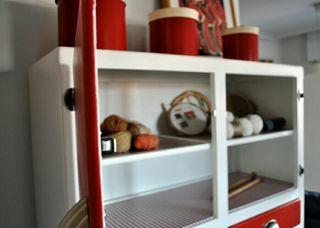 Alacena armario de cocina antigua restaurada