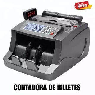 CONTADORA Y DETECTORA DE BILLETES NUEVA.