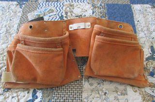 Cinturón de herramientas de cuero