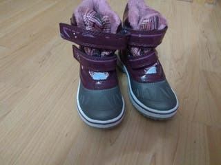botas de nieve talla 29