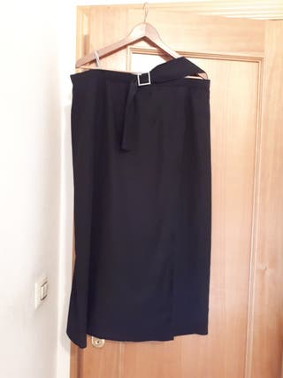 falda larga ceremonia