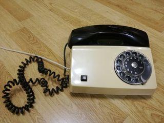 teléfono fijo antiguo de disco Ericsson LM Diavox