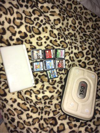 Nintendo DS+Juegos+Estuche