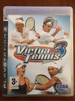 VIRTUAL TENNIS 3 PS3