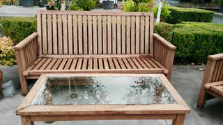 Mesa de centro madera de algarrobo