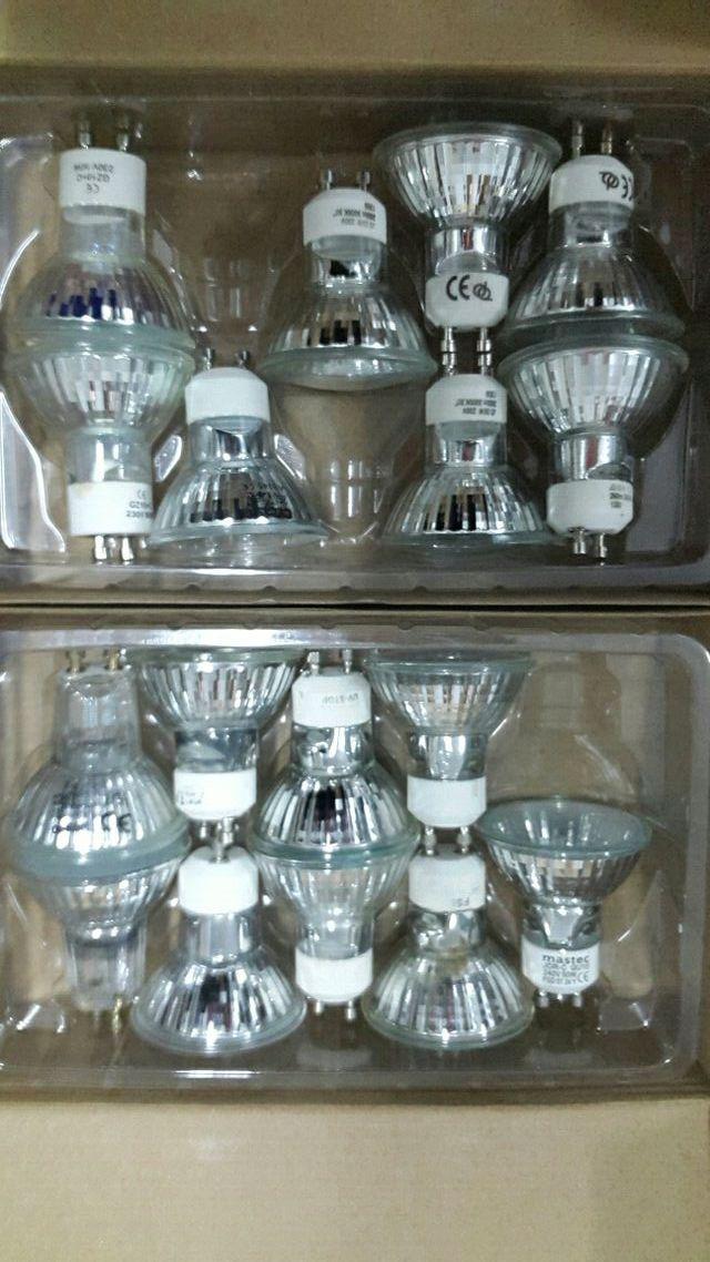 Focos iluminación gu10-unidad