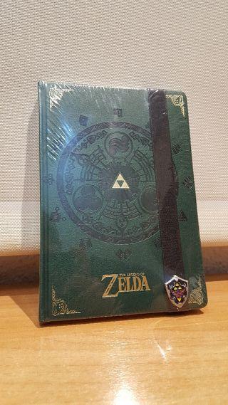 """Cuaderno """"THE LEGEND OF ZELDA"""" NINTENDO ¡¡NUEVO!!"""