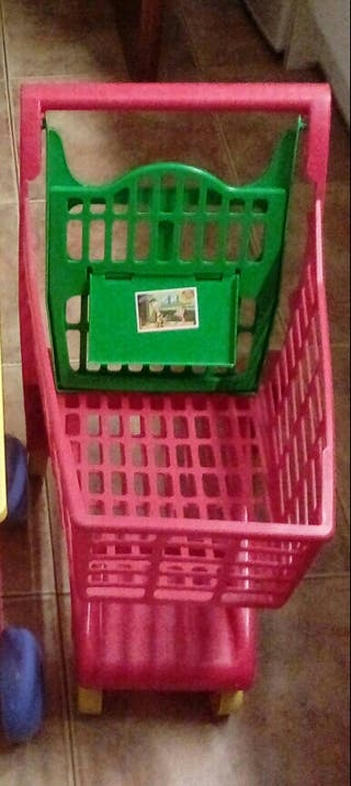 carrito de compra para niños