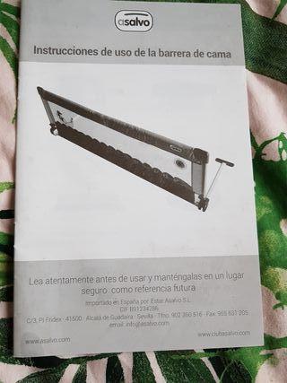 barra protectora cama
