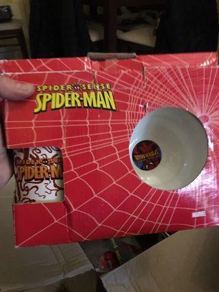 Set Desayuno Spiderman