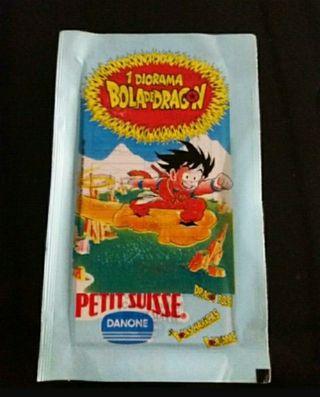 Sobre cerrado Petit Suisse Dragon Ball Danone