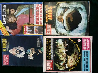 Revistas antiguas de 1975
