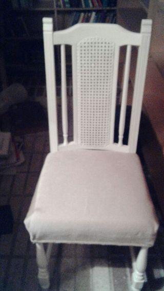 sillas de rejilla antigua restaurada (2)