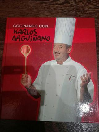 Libro COCINANDO CON KARLOS ARGUIÑANO