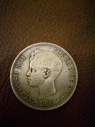 monedas de plata affonso xiii