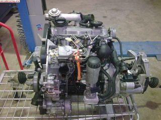 Motor y caja tdi 110