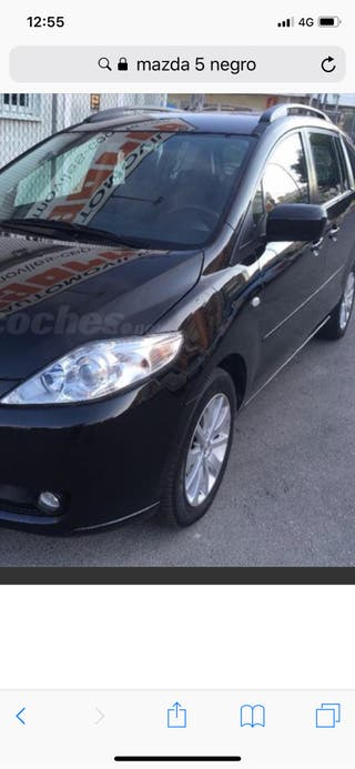 mazda 5 , negro , GLP y gasolina , automático , modelo luxury , 2.0
