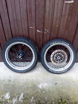 ruedas para derbi 49cc