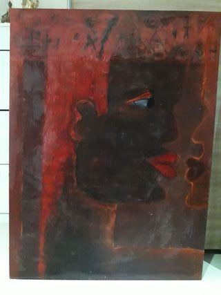cuadro de la pintora nobel Amparo Bellido