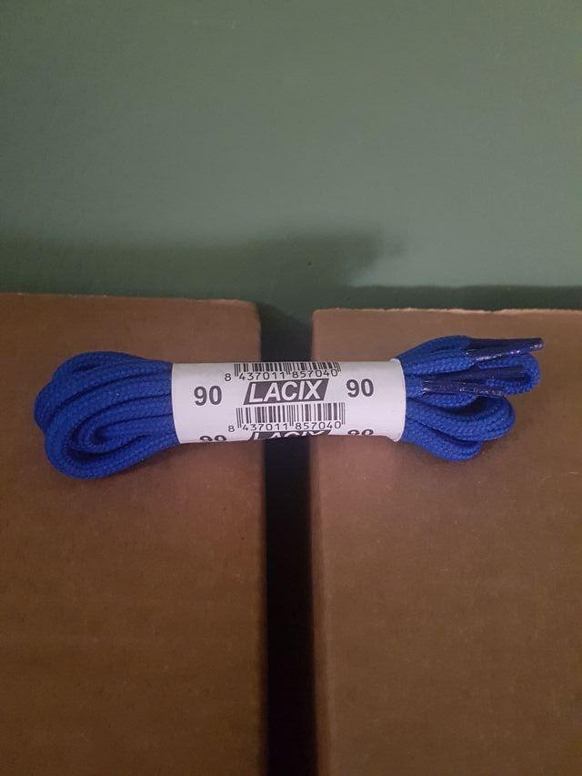 Cordones azules 90 nuevos