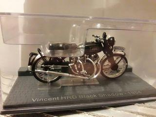 Moto Vincent HRD Black Shadow 1954 1:24 Altaya